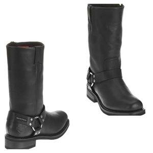 Harley Davidson Hustin Waterproof Harness Boots